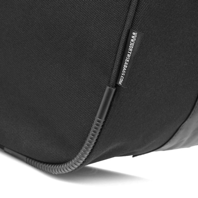 North Sea Bags Sportstaske med indbygget rygs Sort 3