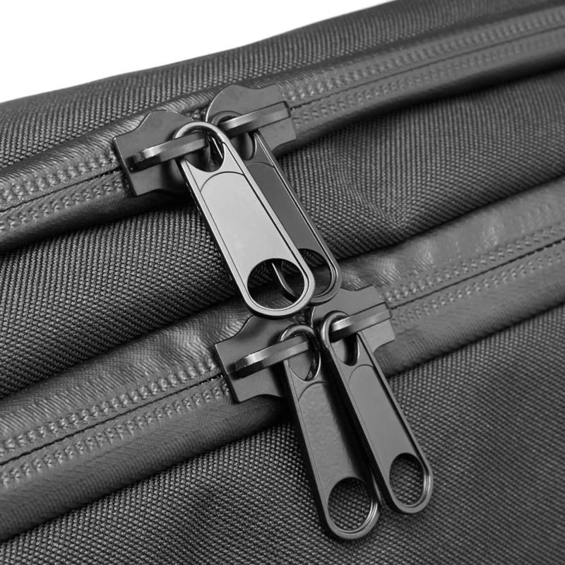 North Sea Bags Sportstaske med indbygget rygs Sort 5