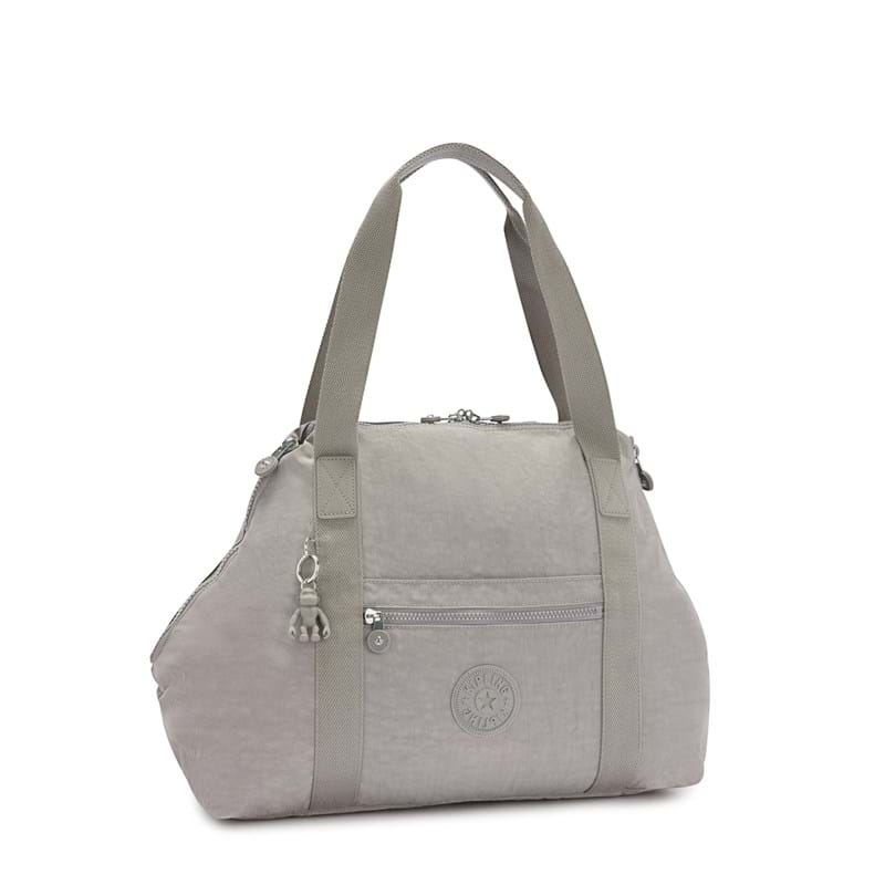 Kipling Shopper Totebag Art M Grå 6