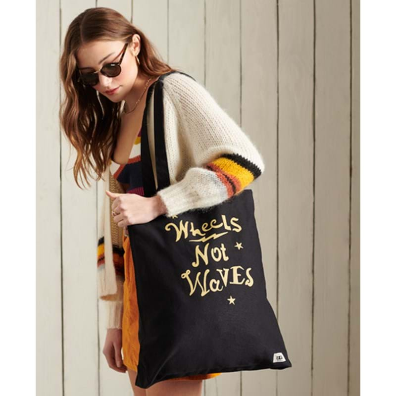 Superdry Totebag Canvas Graphic Sort 3