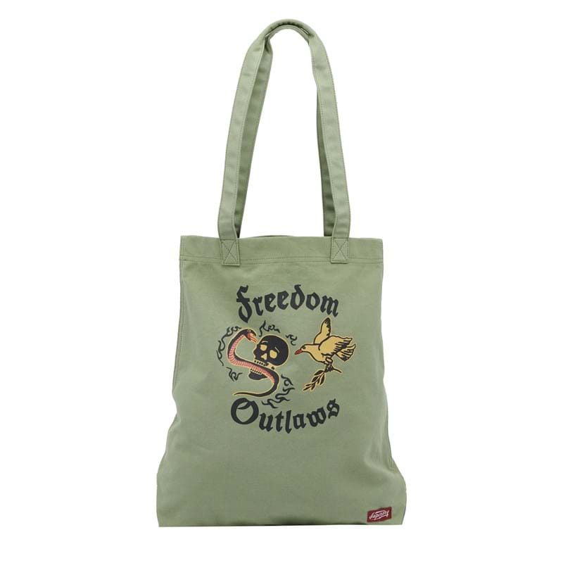 Superdry Totebag Canvas Graphic Grøn 1