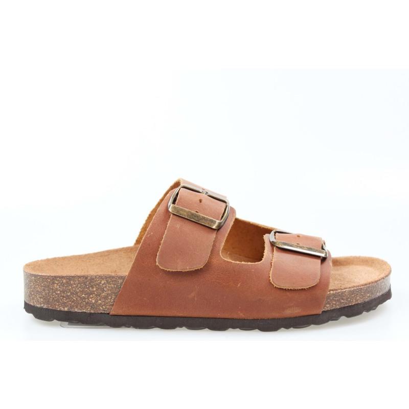 Skvulp Sandal Bio M. Brun 1