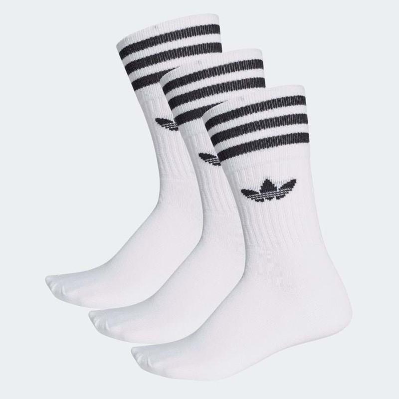 Adidas Originals Strømper Crew 3-pak 35-38 Hvid 1