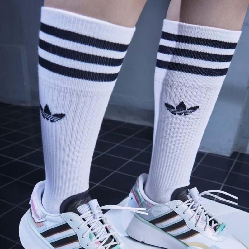 Adidas Originals Strømper Crew 3-pak 35-38 Hvid 3