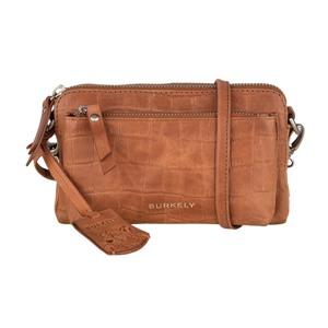 Burkely Crossbody minibag Croco Caia Brun