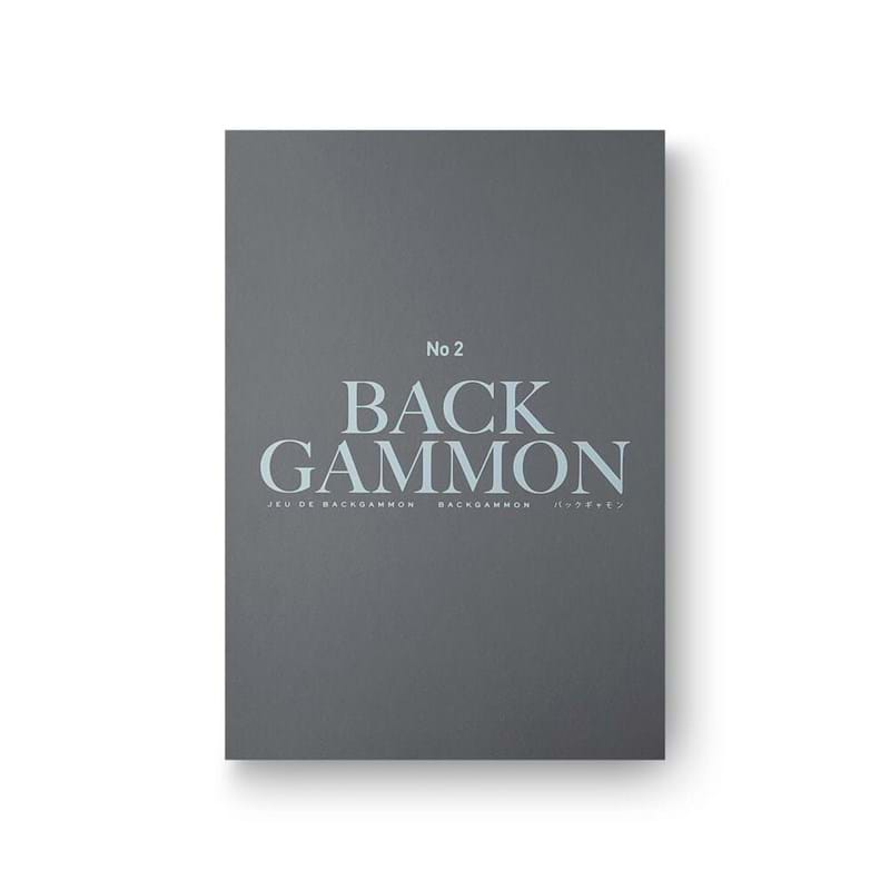Printworks Backgammon Classic Grå/Sort 1