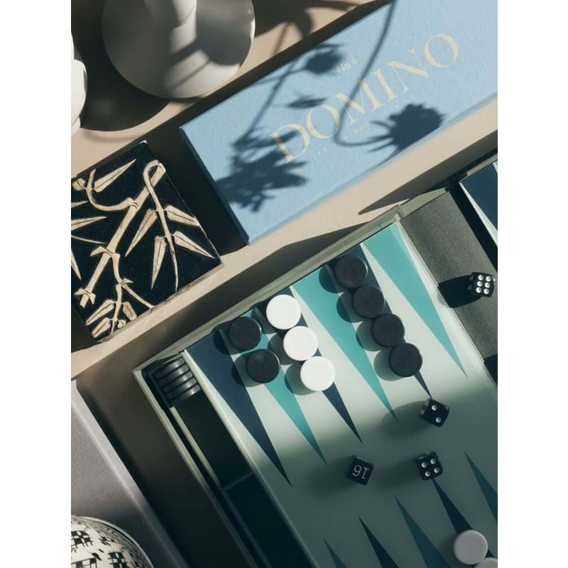 Printworks Backgammon Classic Grå/Sort 4