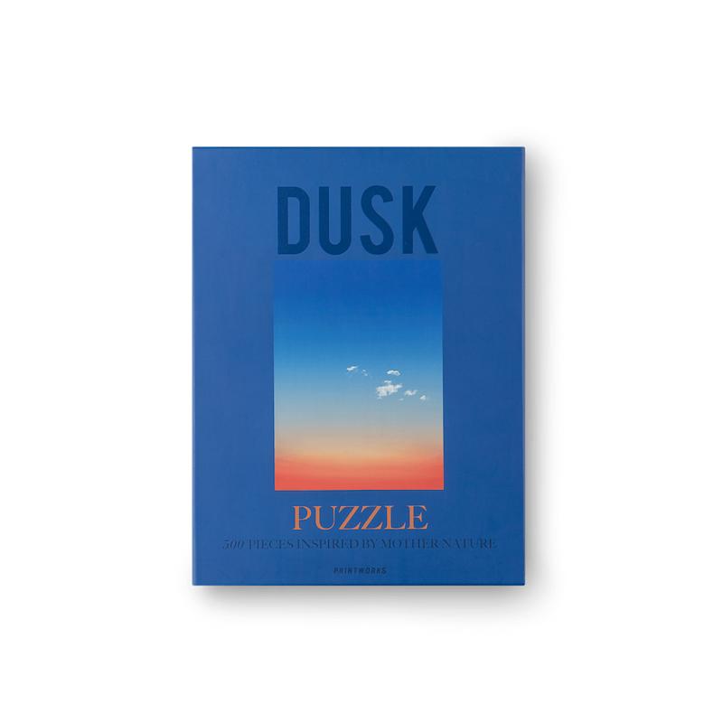 Printworks Puslespil Dusk Blå 1