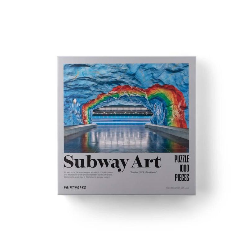 Printworks Puslespil Rainbow Multi 1