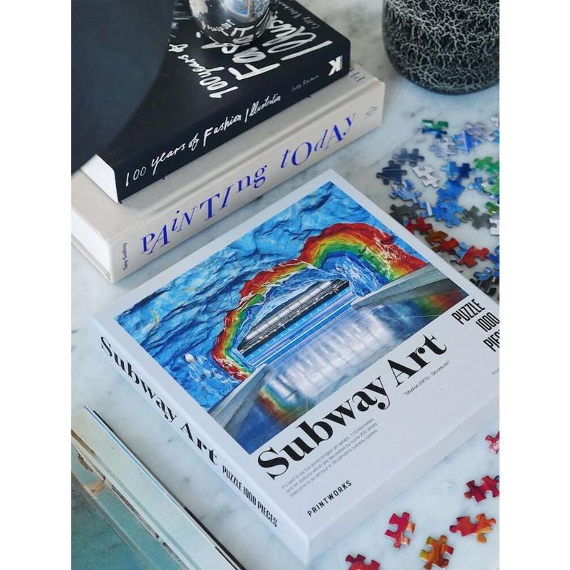 Printworks Puslespil Rainbow Multi 4