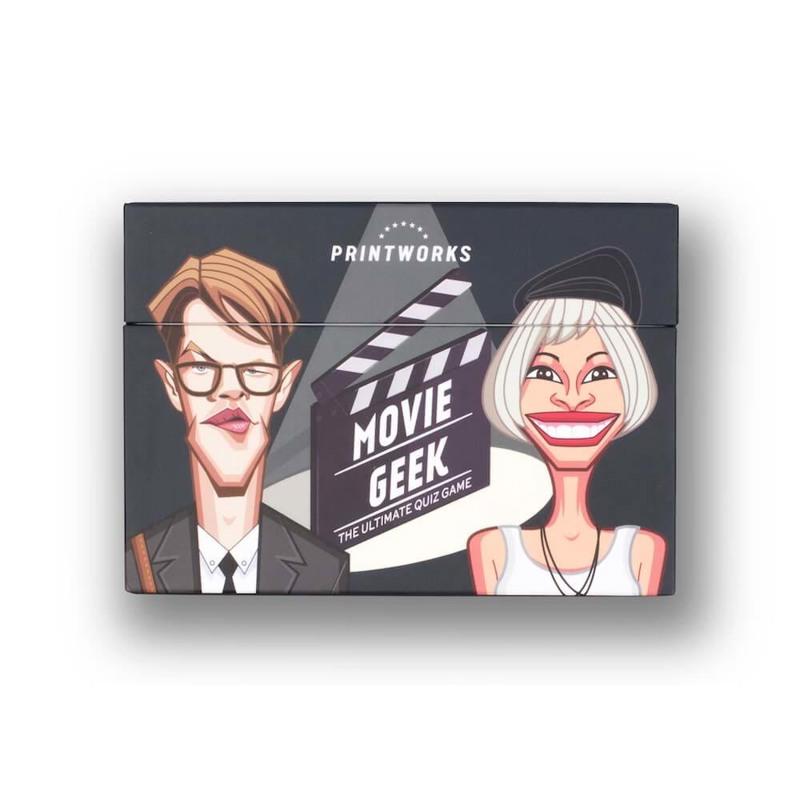 Printworks Quiz spil Movie Geek Sort 1