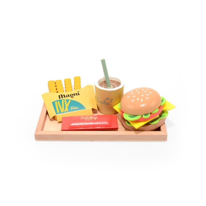 Magni Cheeseburgermenu sæt Multi 1