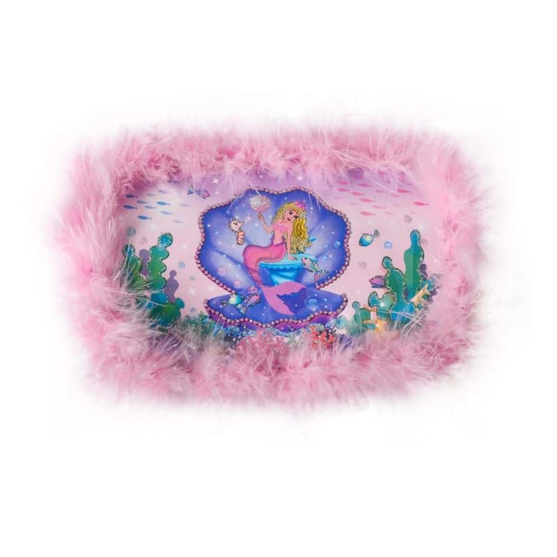 """Magni Smykkeskrin """"Havfrue"""" Pink 1"""