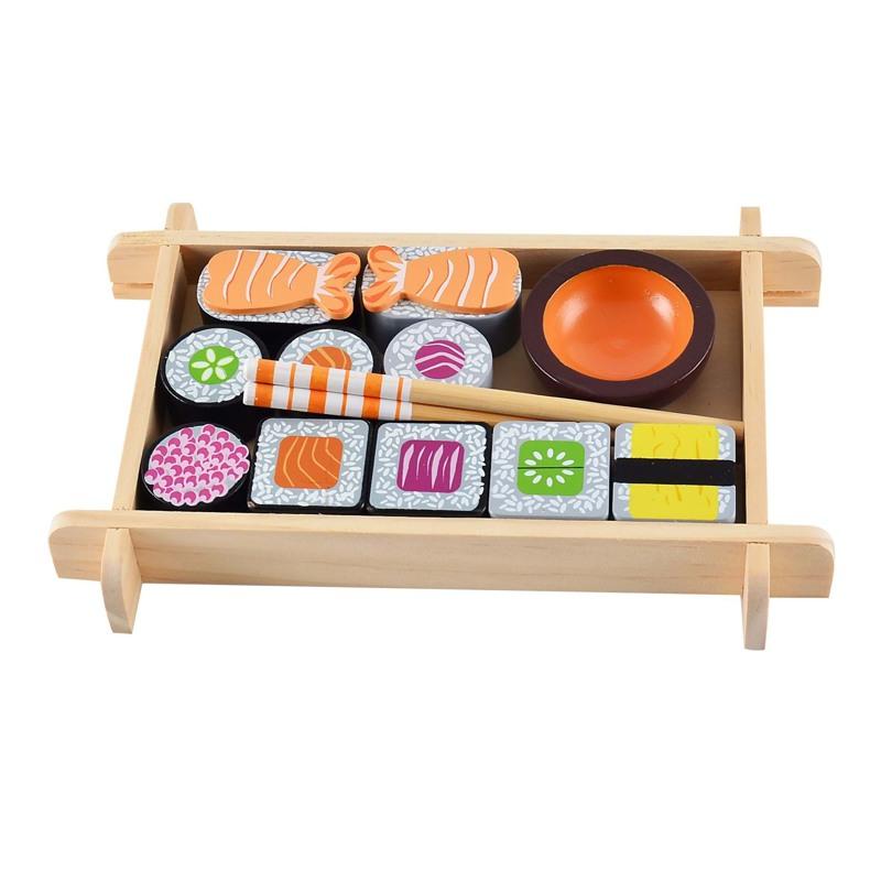 Magni Sushi-sæt i træ  Multi 1