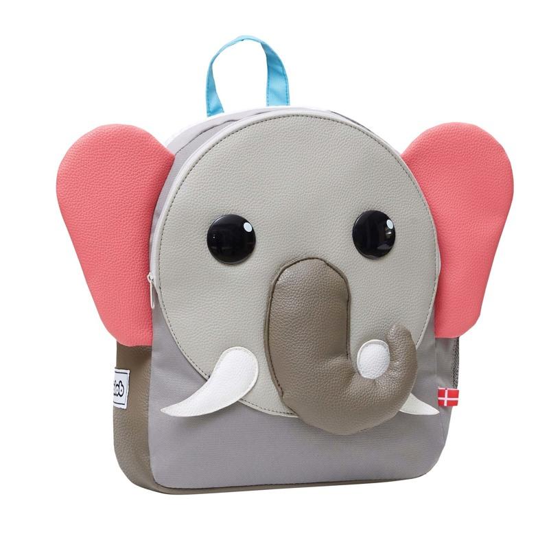 LobLob Børnerygsæk Elefant Grå 1