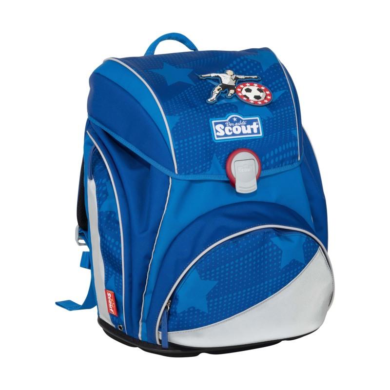 Scout Skoletaskesæt Alpha Fodbold Blå 2