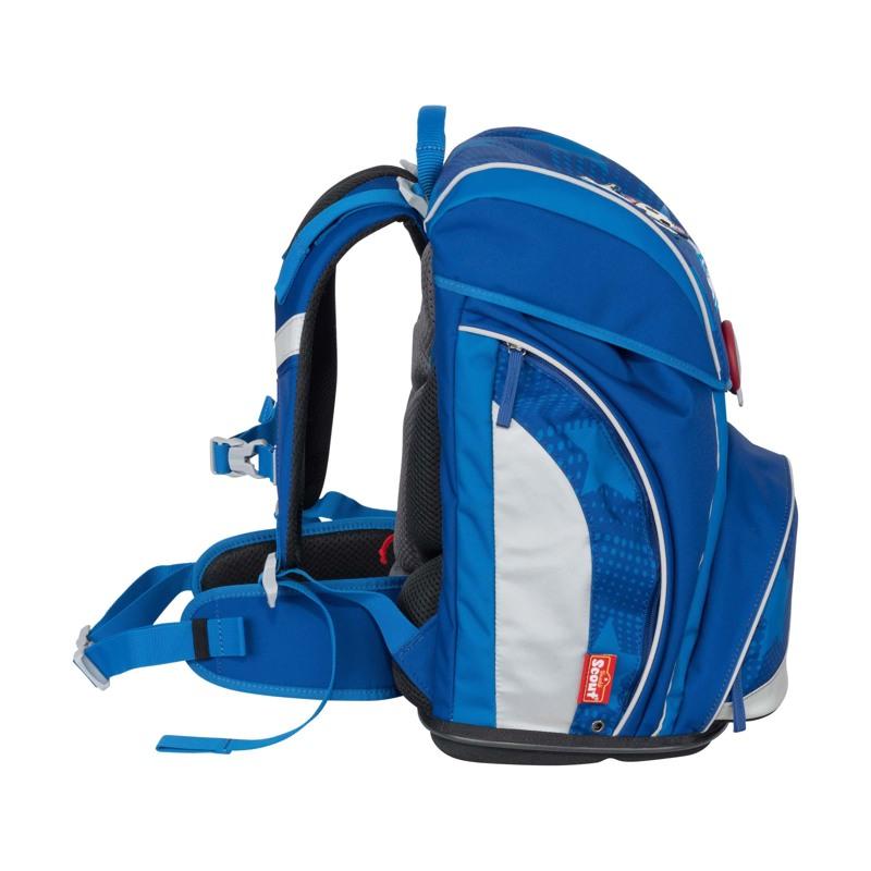 Scout Skoletaskesæt Alpha Fodbold Blå 3