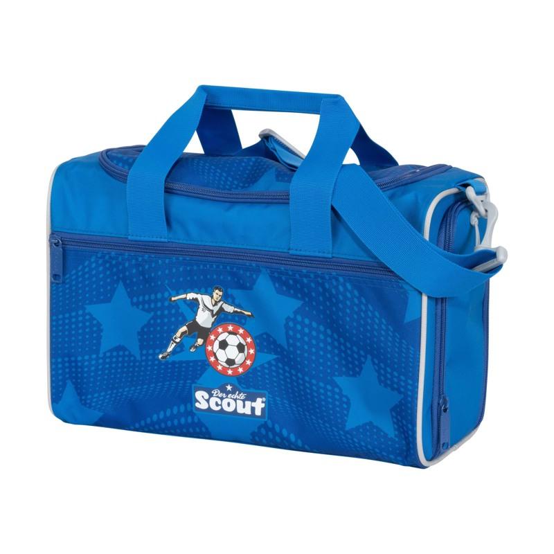 Scout Skoletaskesæt Alpha Fodbold Blå 6