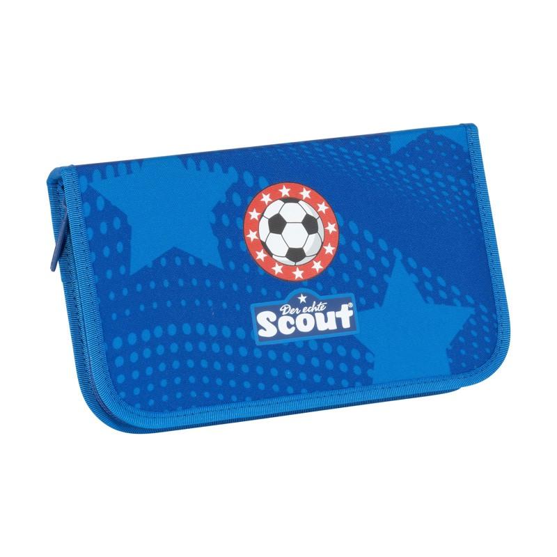 Scout Skoletaskesæt Alpha Fodbold Blå 7