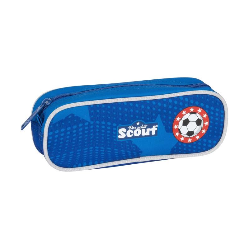Scout Skoletaskesæt Alpha Fodbold Blå 8