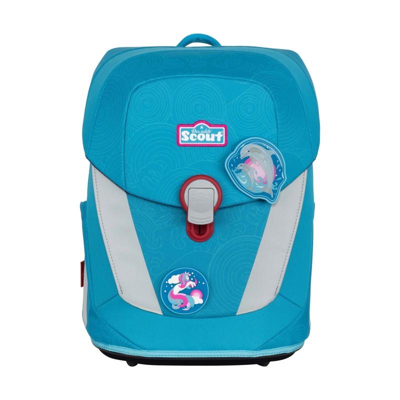 Scout Skoletaskesæt Sunny II Delfin Blå 2