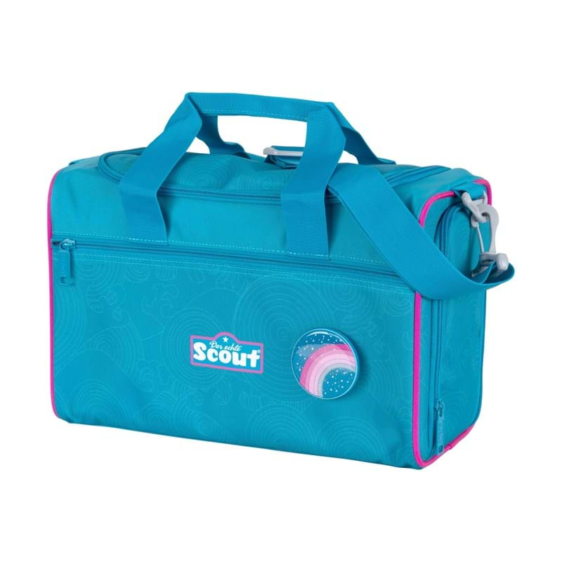 Scout Skoletaskesæt Sunny II Delfin Blå 6