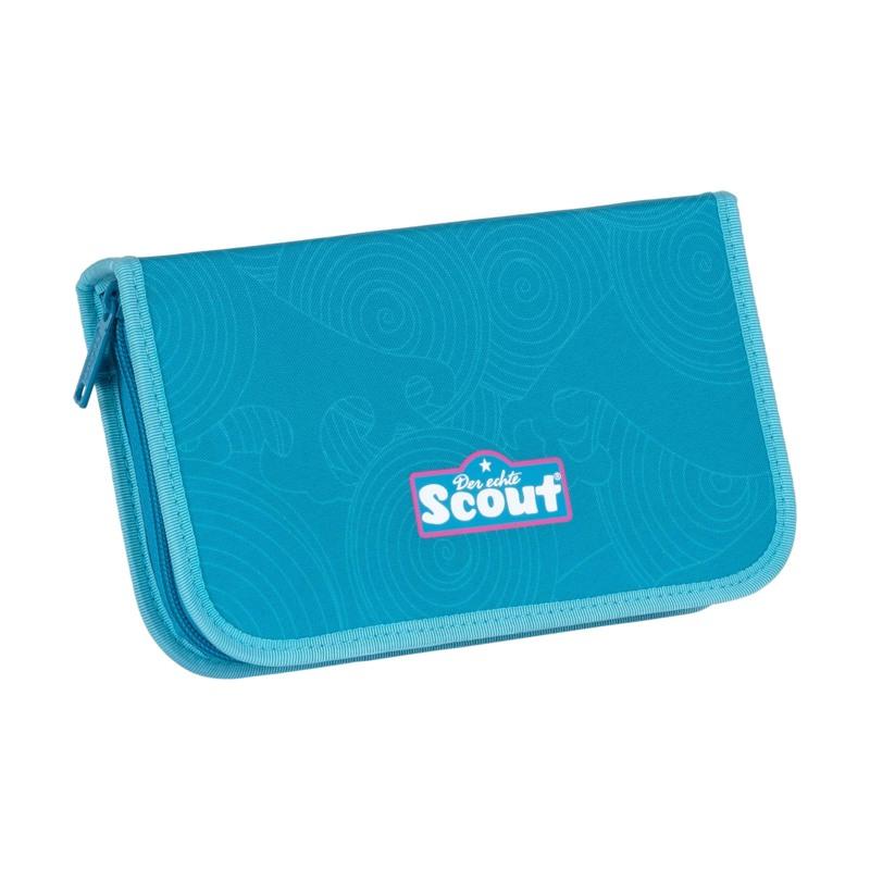 Scout Skoletaskesæt Sunny II Delfin Blå 7