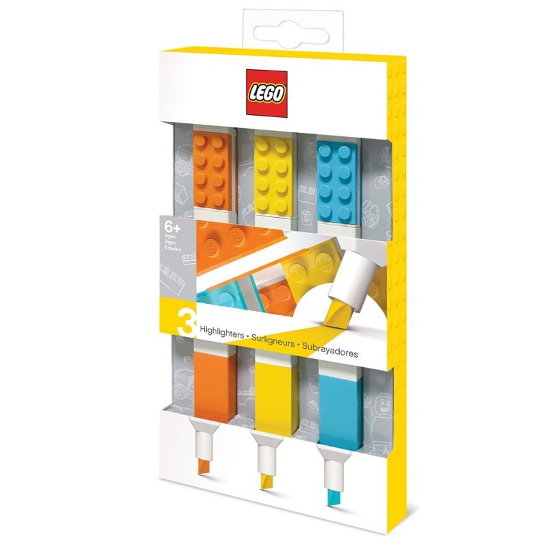 LEGO Overstregningstusser 3 stk. Ass farver 1