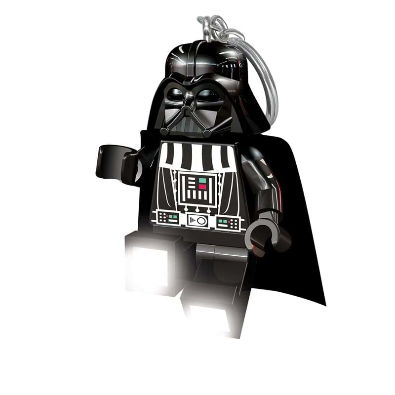 LEGO Nøglering med LED lys Darth Va Sort 2