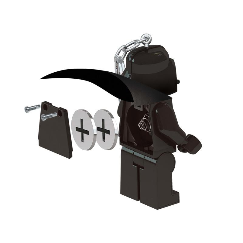 LEGO Nøglering med LED lys Darth Va Sort 4