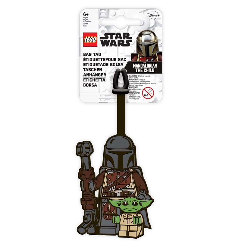 LEGO Kuffertmærke With Child Grå 1