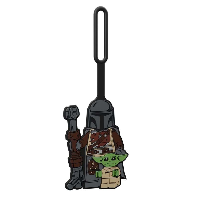 LEGO Kuffertmærke With Child Grå 2