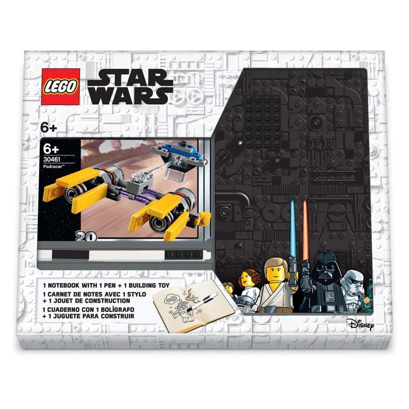 LEGO Notesbog med indhold Podracer Gul 1