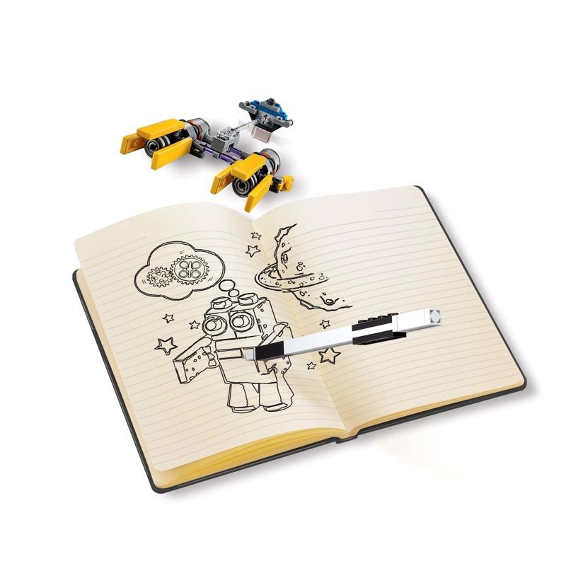 LEGO Notesbog med indhold Podracer Gul 3