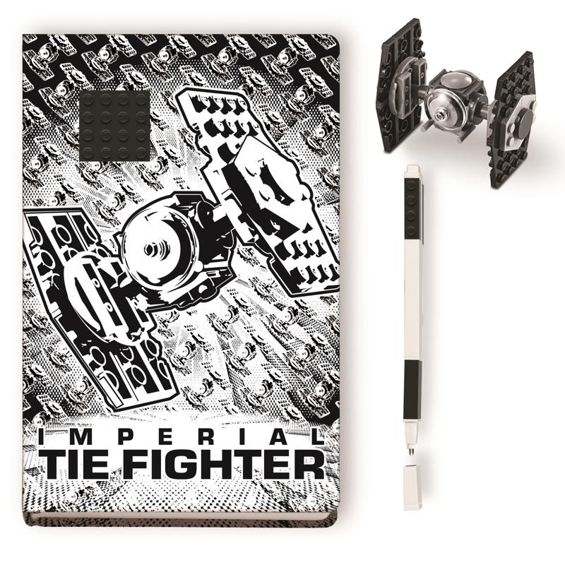 LEGO Notesbog med indhold Tie Fight Hvid 2