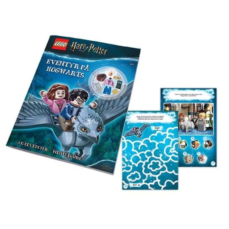 LEGO Aktivitetsbog m/figur Harry Po Blå 1