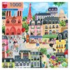 eeBoo Puslespil  Paris 1000 Mønstret 1