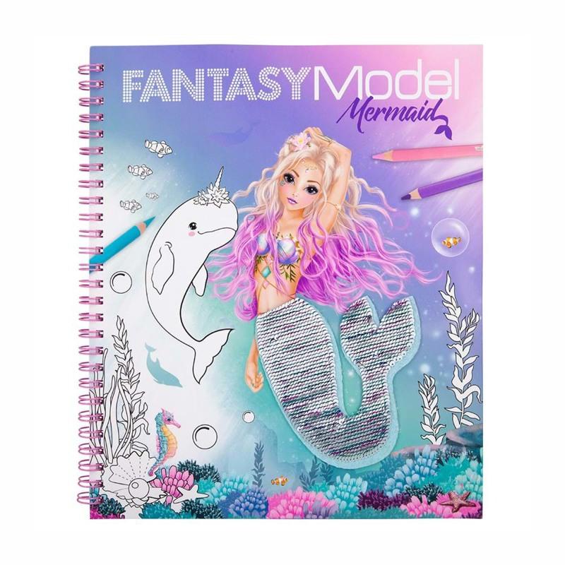 TOPModel Malebog Fantasy Mermaid Turkis 1