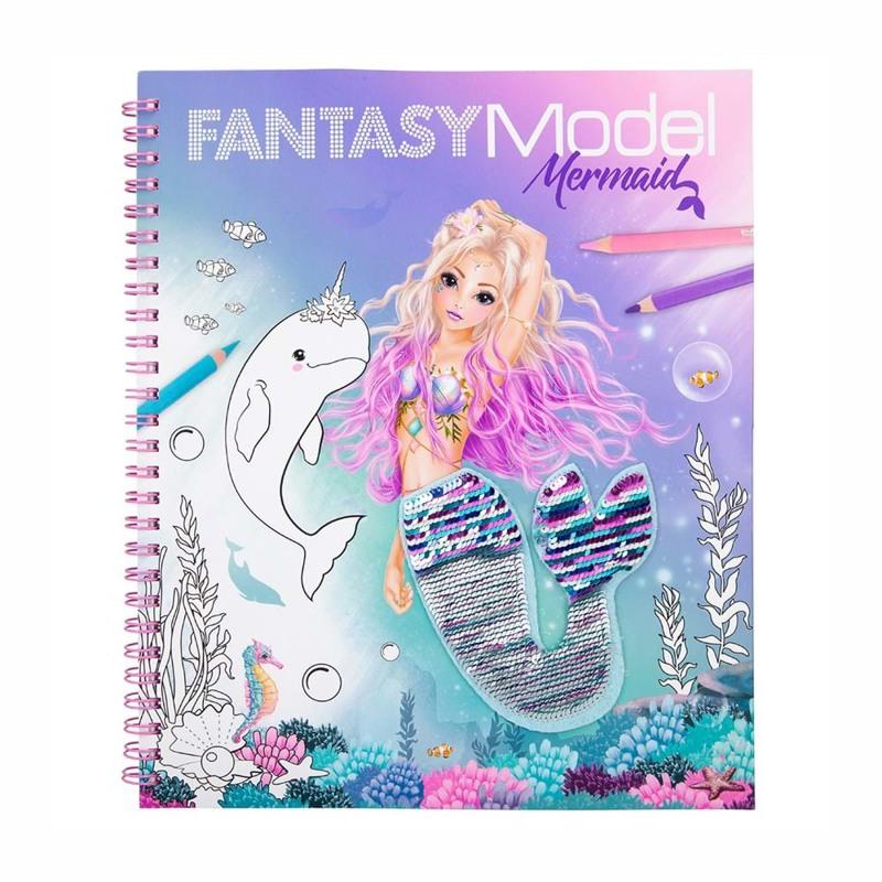 TOPModel Malebog Fantasy Mermaid Turkis 2