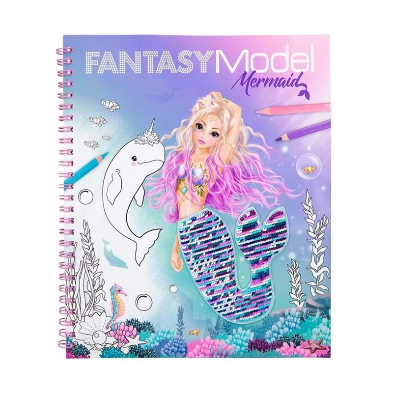 TOPModel Malebog Fantasy Mermaid Turkis 3