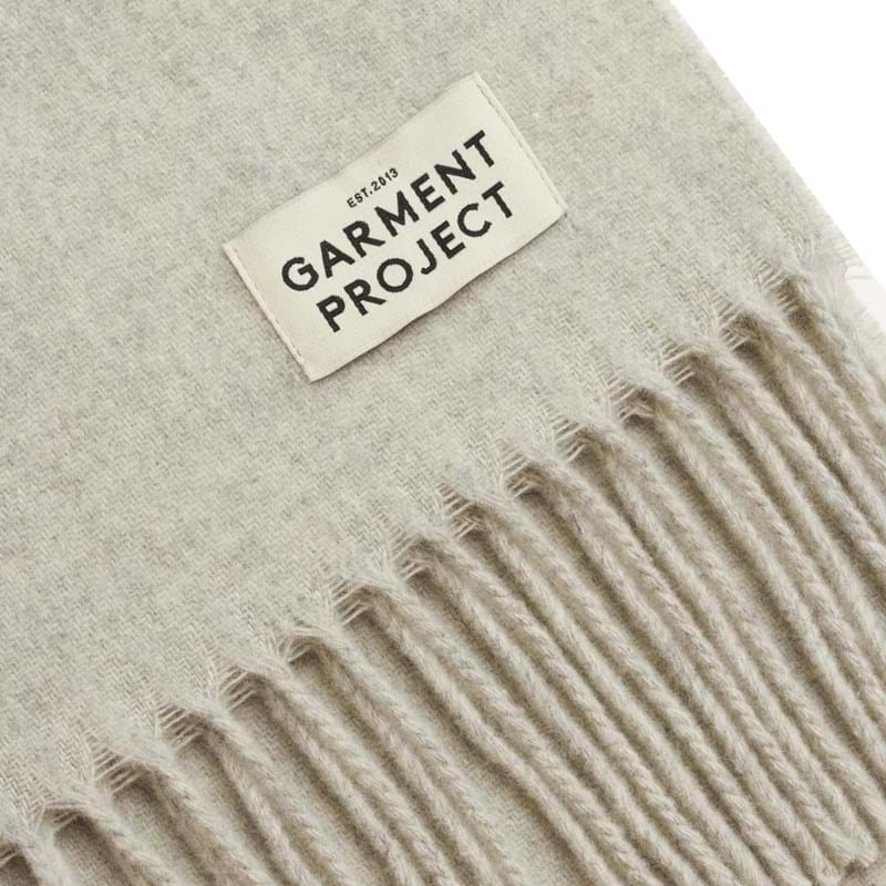 Garment Project Tørklæde Lysegrå 2