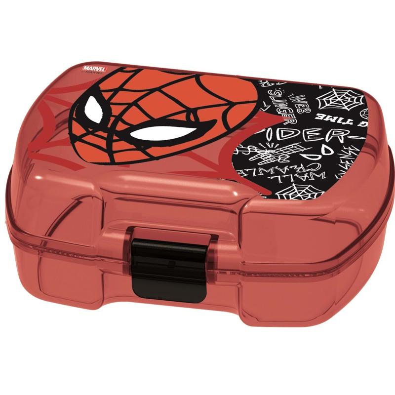 Spiderman Madkasse Spiderman Rød/sort 1